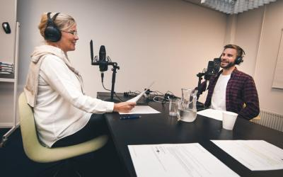 Det mobile podcaststudie – så let er det at få optaget hos jer